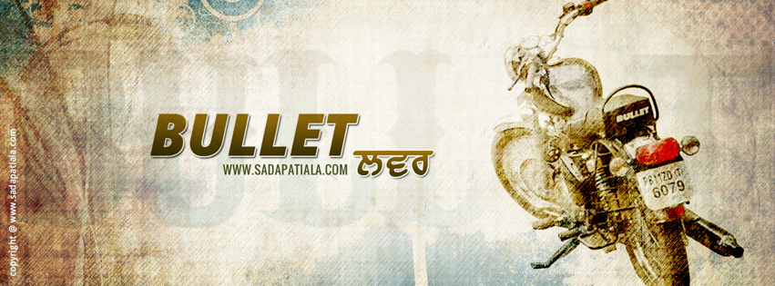Patiala Bullet Electra Facebook Cover