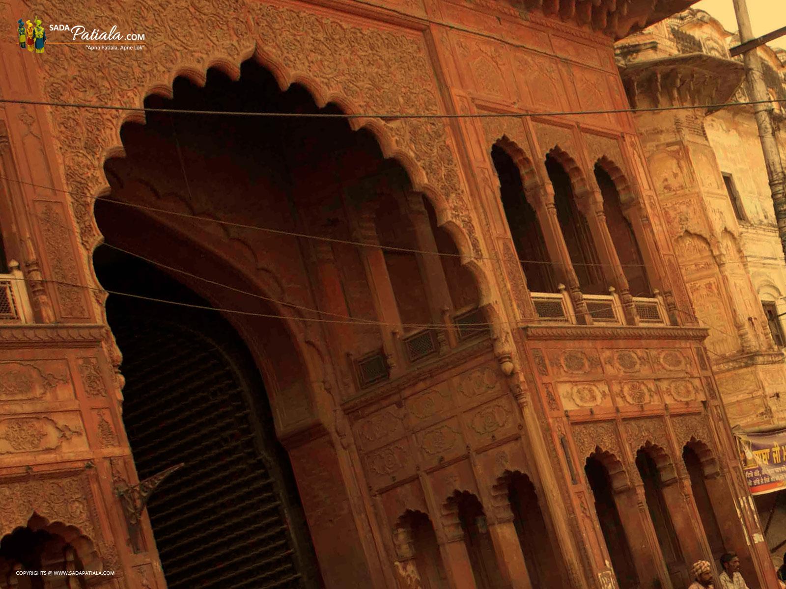 Qila Mubarak Entrance