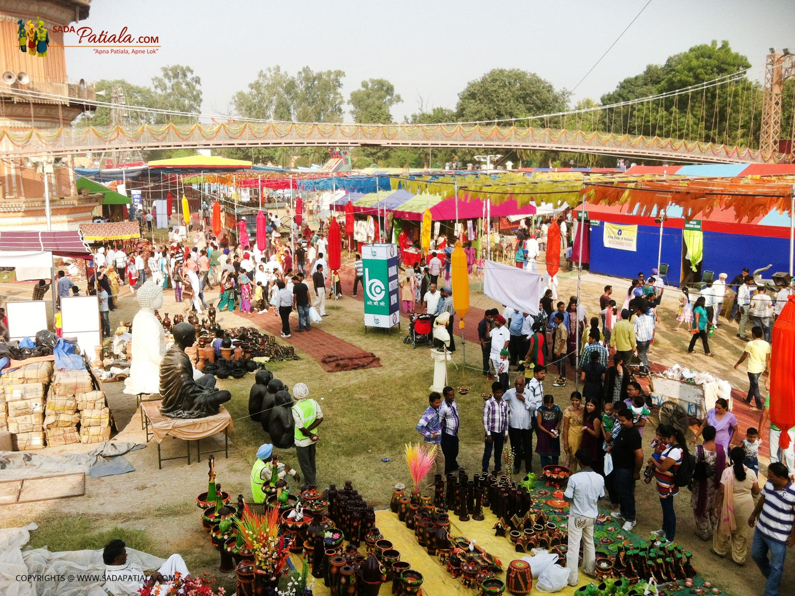Sheesh Mahal Saras Festival